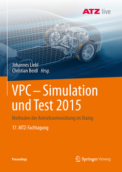 VPC – Simulation und Test 2015 von Beidl,  Christian, Liebl,  Johannes