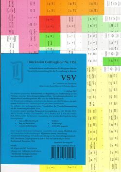 VSV Verwaltungsfachwirt/in-Ausbildung Griffregister Nr. 1156 für dieVorschriftensammlung für dei Verwaltung in Bayern, VSV 2016/2017 von Dürckheim,  Constantin
