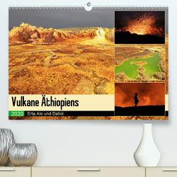 Vulkane Äthiopiens – Erta Ale und Dallol (Premium, hochwertiger DIN A2 Wandkalender 2020, Kunstdruck in Hochglanz) von Herzog,  Michael