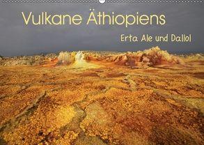 Vulkane Äthiopiens – Erta Ale und Dallol (Wandkalender 2018 DIN A2 quer) von Herzog,  Michael