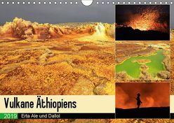 Vulkane Äthiopiens – Erta Ale und Dallol (Wandkalender 2019 DIN A4 quer) von Herzog,  Michael