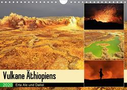 Vulkane Äthiopiens – Erta Ale und Dallol (Wandkalender 2020 DIN A4 quer) von Herzog,  Michael