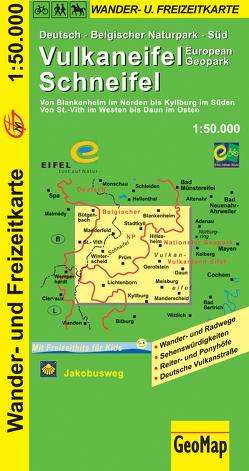 Vulkaneifel Schneifel Wander- und Freizeitkarte