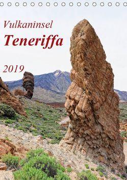 Vulkaninsel Teneriffa (Tischkalender 2019 DIN A5 hoch) von Frost,  Anja