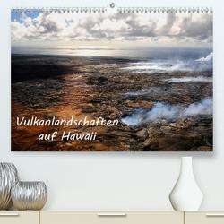 Vulkanlandschaften auf Hawaii (Premium, hochwertiger DIN A2 Wandkalender 2021, Kunstdruck in Hochglanz) von by Sylvia Seibl,  CrystalLights