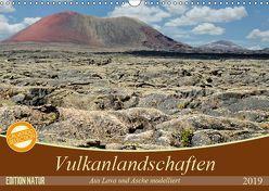 Vulkanlandschaften – Aus Lava und Asche modelliert (Wandkalender 2019 DIN A3 quer) von Gärtner,  Oliver