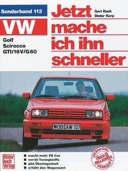 VW Golf II / Scirocco GTI von Hack,  Gert, Korp,  Dieter