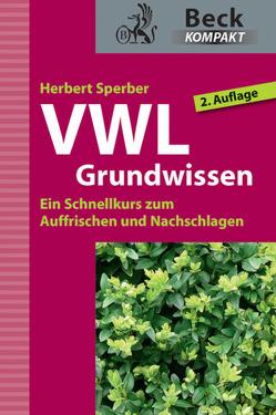 VWL Grundwissen von Sperber,  Herbert