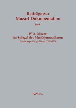 W. A. Mozart im Spiegel des Musikjournalismus von Schwob,  Rainer J