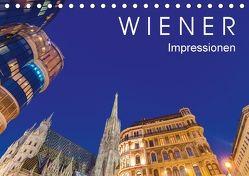 W I E N E R Impressionen (Tischkalender 2018 DIN A5 quer) von Dieterich,  Werner