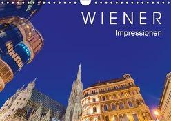 W I E N E R Impressionen (Wandkalender 2018 DIN A4 quer) von Dieterich,  Werner