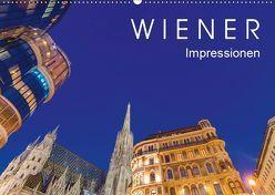 W I E N E R Impressionen (Wandkalender 2019 DIN A2 quer) von Dieterich,  Werner