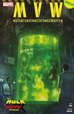 MVW – Mutantenvernichtungswaffen von Asrar,  Mahmud, Borstel,  Marc, Gill,  Robert, Pak,  Greg, Petz,  Jürgen, Roberson,  Ibraim