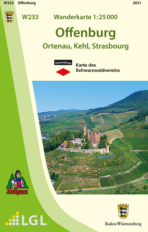 W233 Wanderkarte 1:25 000 Offenburg