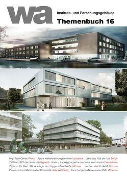 wa Themenbuch 16 Instituts- und Forschungsgebäude