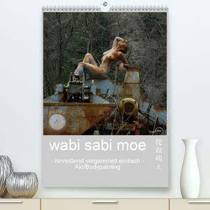 wabi sabi moe – hinreißend vergammelt erotisch – Akt/Bodypainting (Premium, hochwertiger DIN A2 Wandkalender 2020, Kunstdruck in Hochglanz) von fru.ch