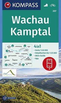Wachau, Kamptal von KOMPASS-Karten GmbH