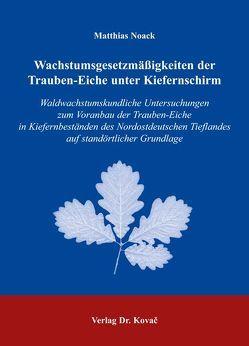 Wachstumsgesetzmässigkeiten der Trauben-Eiche unter Kiefernschirm von Noack,  Matthias