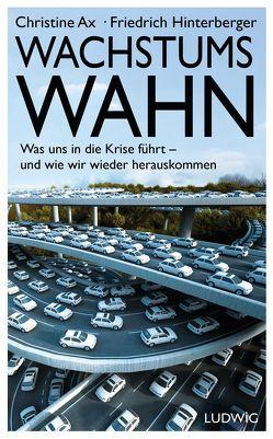 Wachstumswahn von Ax,  Christine, Hinterberger,  Friedrich
