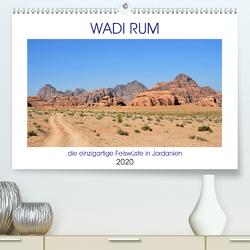 WADI RUM, die einzigartige Felswüste in Jordanien (Premium, hochwertiger DIN A2 Wandkalender 2020, Kunstdruck in Hochglanz) von Senff,  Ulrich