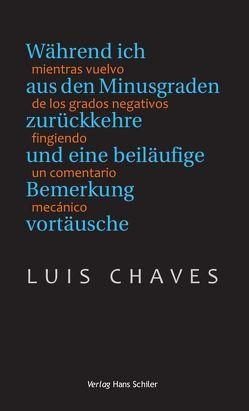 Während ich aus den Minusgraden zurückkehre und eine beiläufige Bemerkung vortäusche von Berger,  Timo, Chaves,  Luis