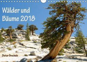 Wälder und Bäume 2018 (Wandkalender 2018 DIN A4 quer) von Brecheis,  Dieter