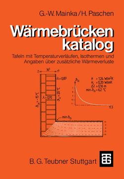 Wärmebrückenkatalog von Mainka,  Georg-Wilhelm, Paschen,  Heinrich