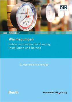 Wärmepumpen. von Bonin,  Jürgen