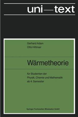 Wärmetheorie von Adam,  Gerhard, Hittmair,  Otto