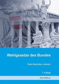 Wahlgesetze des Bundes von proLIBRIS VerlagsgesmbH