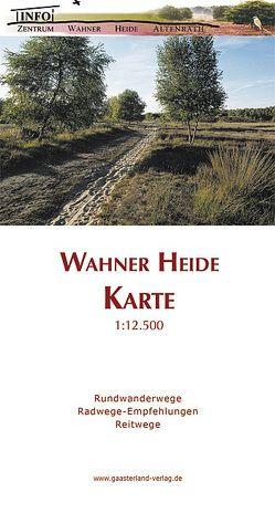 Wahner Heide Karte von Bathen,  Matthias