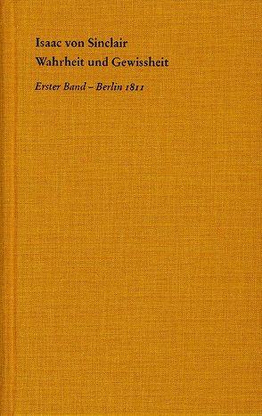Wahrheit und Gewissheit von Asmuth,  Christoph, Binkelmann,  Christoph, Grüneberg,  Patrick, Sinclair,  Isaac von