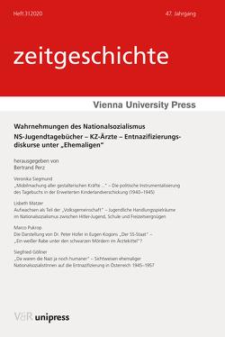Wahrnehmungen des Nationalsozialismus von Göllner,  Siegfried, Matzer,  Lisbeth, Perz,  Bertrand, Pukrop,  Marco, Siegmund,  Veronika