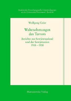 Wahrnehmungen des Terrors von Geier,  Wolfgang