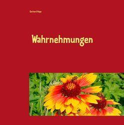 Wahrnehmungen von Höpp,  Gerhard