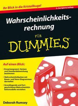 Wahrscheinlichkeitsrechnung für Dummies von Engel,  Reinhard, Rumsey,  Deborah J.