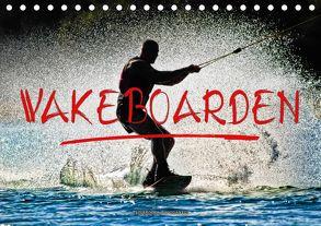 Wakeboarden (Tischkalender 2018 DIN A5 quer) von Roder,  Peter