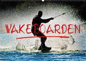 Wakeboarden (Wandkalender 2018 DIN A2 quer) von Roder,  Peter