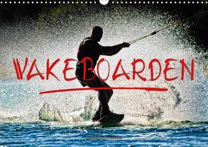 Wakeboarden (Wandkalender 2018 DIN A3 quer) von Roder,  Peter