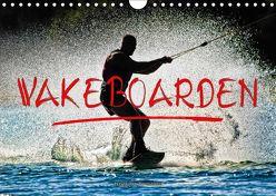 Wakeboarden (Wandkalender 2018 DIN A4 quer) von Roder,  Peter