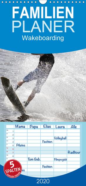 Wakeboarding – Familienplaner hoch (Wandkalender 2020 , 21 cm x 45 cm, hoch) von Heiligenstein,  Marc