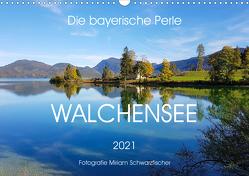 Walchensee (Wandkalender 2021 DIN A3 quer) von Schwarzfischer,  Miriam