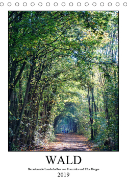 Wald – bezaubernde Landschaften (Tischkalender 2019 DIN A5 hoch) von Hoppe,  Elke, Hoppe,  Franziska