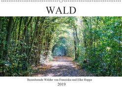 Wald – bezaubernde Wälder (Wandkalender 2019 DIN A2 quer) von Hoppe,  Elke, Hoppe,  Franziska