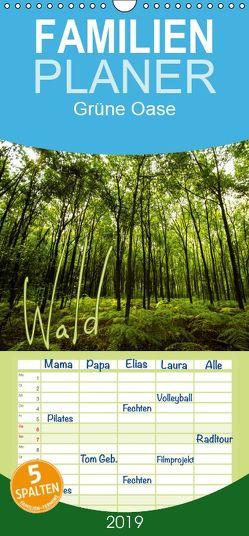 Wald – Familienplaner hoch (Wandkalender 2019 , 21 cm x 45 cm, hoch) von Gimpel,  Frauke