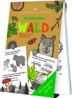 Wald – Quizblöckchen von Bartsch,  Charis, Nick,  Svenja