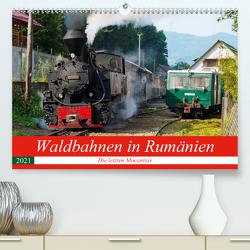 Waldbahnen in Rumänien – Die letzten Mocanitas (Premium, hochwertiger DIN A2 Wandkalender 2021, Kunstdruck in Hochglanz) von Hegerfeld-Reckert,  Anneli