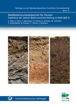 Waldbodenzustandsbericht für Hessen von Damman,  Inge, Evers,  Jan, Paar,  Uwe