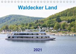 Waldecker Land (Tischkalender 2021 DIN A5 quer) von Brunhilde Kesting,  Margarete