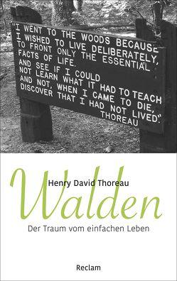 Walden von Güttinger,  Fritz, Thoreau,  Henry David